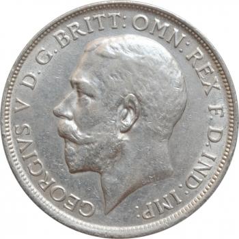"""Великобритания 2 шиллинга (флорин) 1916 г., UNC, """"Король Георг V (1910 - 1936)"""""""