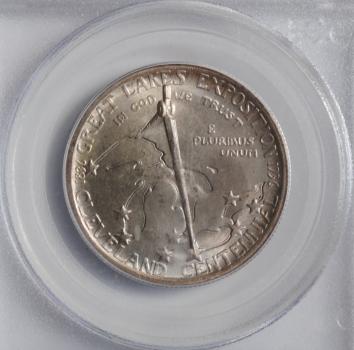 США 50 центов 1936 г., PCGS MS65, '100 лет Экспозиции великих озёр (Мозэс Кливлэнд)'