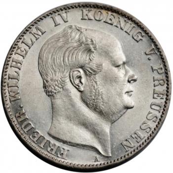 Дания 2 кроны 1923 г., XF-, 'Серебряная годовщина свадьбы'