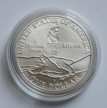США 1 доллар 1994 г., BU, 'Мемориал ветеранов Вьетнама'