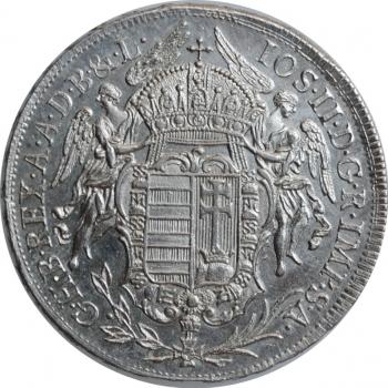 "Венгрия 1/2 талера 1782 г. B, BU, ""Император Иосиф II (1780 - 1790)"""