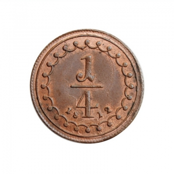 "Австрия 1/4 крейцера 1812 г. A, UNC, ""Император Франц II (1806 - 1835)"""