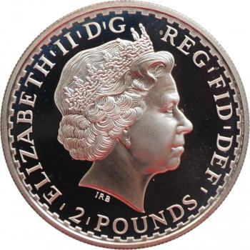 """Бельгия 250 франков 1997 г., PROOF, """"60 лет со дня рождения Королевы Паолы"""""""