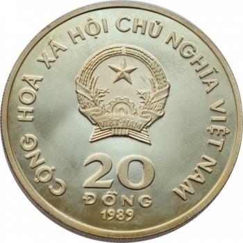 ГДР 5 марок 1988 г., UNC, '50 лет со дня смерти Эрнста Барлаха'