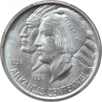 ГДР 5 марок 1989 г., UNC, '100 лет со дня рождения Карла фон Осецкого'