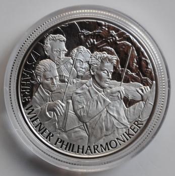 Австрия 20 евро 2017 г., PROOF, '175 лет Венскому филармоническому оркестру'
