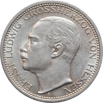 """Гессен 3 марки 1910, UNC, """"Великий гепцог Эрнст Людвиг (1892 - 1918)"""""""