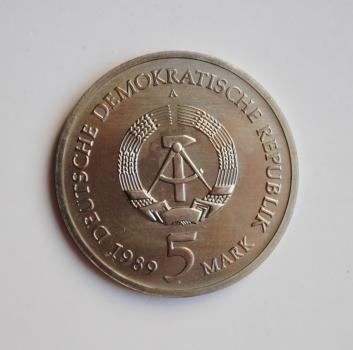ГДР 5 марок 1978 г., UNC, 'Международный год против апартеида'