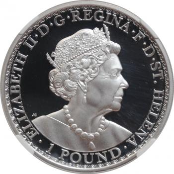 Чехословакия 100 крон 1985 г., BU, '150 лет со дня смерти Петра Брандля'