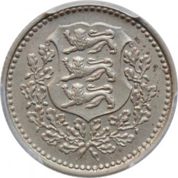 """Эстония 3 марки 1926, PCGS AU58, """"1ая Республика (Марка) (1922 - 1927)"""""""