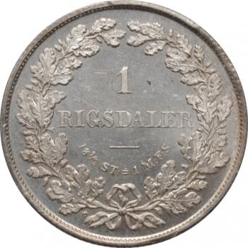 ГДР 5 марок 1984 г., UNC, '150 лет со дня смерти Адольфа фон Лютцова'