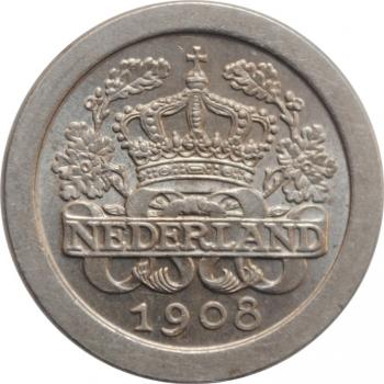 Австро-Венгрия 5 крон 1907 г., BU, '40 лет со дня коронации Франца Иосифа I'