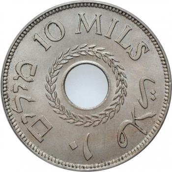 """Палестина 10 милей 1927 г., BU, """"Британский мандат (1927 - 1948)"""""""