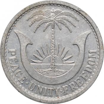 "Биафра 1 шиллинг 1969 г., UNC, ""Республика Биафра (1967 - 1970)"""