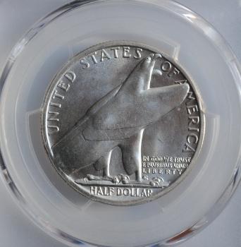 США 50 центов 1936 г., BU, '250 лет признанию городом Олбани'