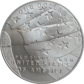 "США 1 доллар 2012 г., BU, ""200 лет гимну США"""