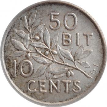 Камерун 1 франк 1943 г., AU, 'Подопечная территория ООН (1924 - 1948)' LIBRE