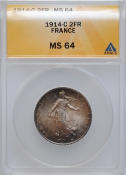 ГДР 10 марок 1982 г., UNC, 'Открытие нового Гевандхаус'