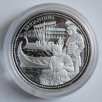 Австрия 20 евро 2012 г., PROOF, 'Рим на Дунае - Бригантиум'