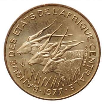 "Центральная Африка (BEAC) 10 франков 1977 г., BU, ""Франк КФА BEAC (1973 - 2019)"""