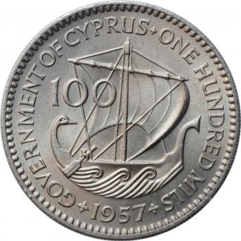 """Бельгия 20 сантимов 1861 г., BU, """"Король Леопольд I (1832 - 1865)"""""""