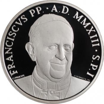 """Ватикан 10 евро 2013 г., PROOF, """"50-й Международный день молитвы о призваниях"""""""