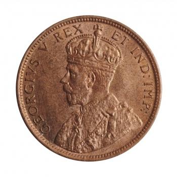 "Канада 1 цент 1911 г., UNC, ""Король Георг V (1911 - 1936)"""