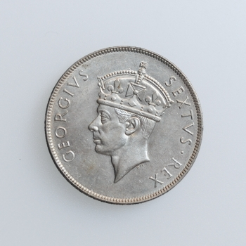"""Британская Восточная Африка 1 шиллинг 1949 г. H, UNC, """"Король Георг VI (1937 - 1952)"""""""