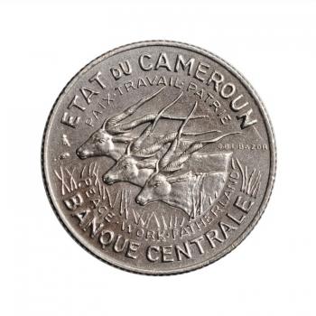 """Камерун 100 франков 1966 г., BU, """"Франк КФА (1958 - 1973)"""""""