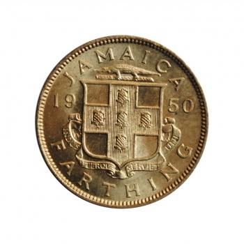 """Ямайка 1 фартинг 1950 г., BU, """"Король Георг VI 1937 - 1952"""""""