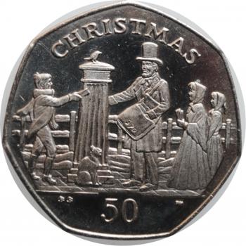 """Великобритания 1/2 пенни 1799 г., NGC MS63 BN, """"Король Георг III (1760 - 1820)"""""""
