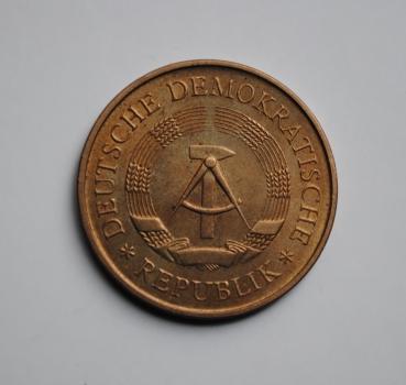 ГДР 5 марок 1969 г., UNC, '20 лет образования ГДР'