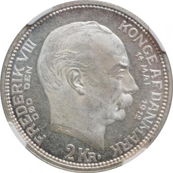 ФРГ 2 марки 1992 г. A, 'Людвиг Эрхард, 40 лет Федеративной Республике (1948-1988)'