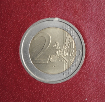 Ватикан 2 евро 2004 г., BU, '75 лет образования Государства Ватикан'