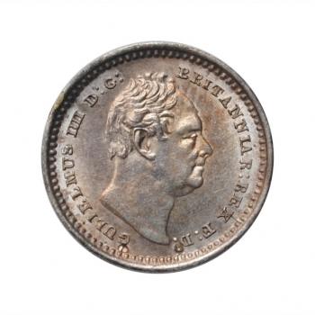 """Великобритания 1 1/2 пенни 1836 г., UNC, """"Король Вильгельм IV (1831 - 1837)"""""""