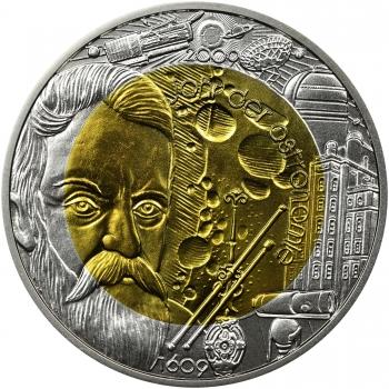 """Австрия 25 евро 2009 г., BU, """"Международный год астрономии"""""""
