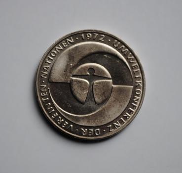 ФРГ 5 марок 1982 г., UNC, '10 лет конференции ООН по окружающей среде'