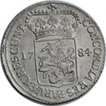 """Нидерланды (Западная Фризия) 1 дукат 1784 г., UNC, """"Голландская Республика (1701 - 1794)"""""""