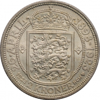 """Фарерские острова 25 эре 1941 г., UNC, """"Король Кристиан X (1941 - 1941)"""""""