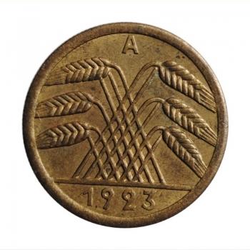 """Германия 50 рентенпфеннигов 1923 г. A, UNC, """"Веймарская Республика (Рентенмарка) (1923 - 1929)''"""