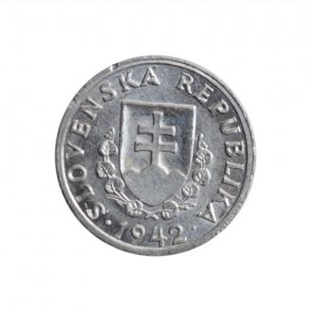 """Словакия 20 геллеров 1942 г., UNC, """"Словацкая Республика (1939 - 1945)"""""""