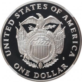 """США 1 доллар 1994 г., NGC PF69, """"200 лет Капитолию"""""""