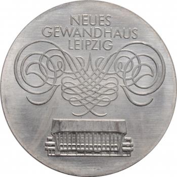 """ГДР 10 марок 1982 г., BU, """"Открытие нового Гевандхаус"""""""