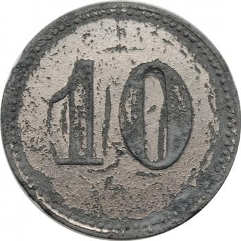 """Саксония - Мюнден 10 пфеннигов 1918 г., XF, """"Нотгельды Германии (1914 - 1924)"""""""