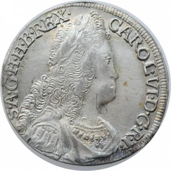 """Австрия 6 крейцеров 1731 г., UNC, """"Император Карл VI (1711 - 1740)"""""""