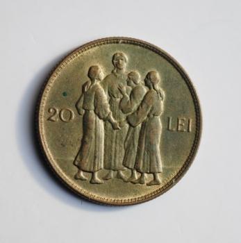 Румыния 20 лей 1930 г., UNC, 'Король Михай I (1927 - 1930)'