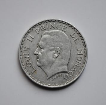 Монако 5 франков 1945 г., 'Старый франк (1837 - 1959)'