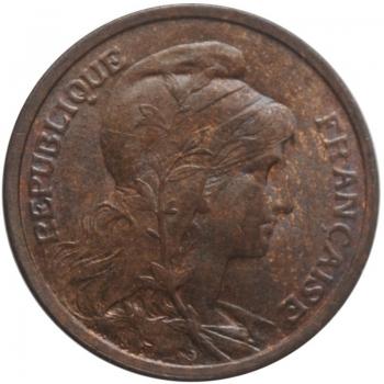 Бельгийское Конго 1 сантим 1910 г., UNC, 'Колония Бельгии (1909 - 1949)'