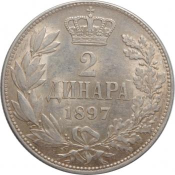 Франкфурт 6 крейцеров 1854 г., AU, 'Свободный имперский город Франкфурт (1815 - 1866)'