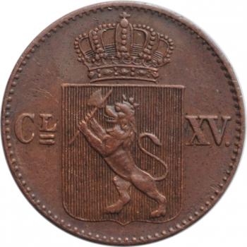 """Швейцарский кантон - Вауд 1 франк 1845 г., UNC, """"Стрелковый Фестиваль в Вауде"""""""
